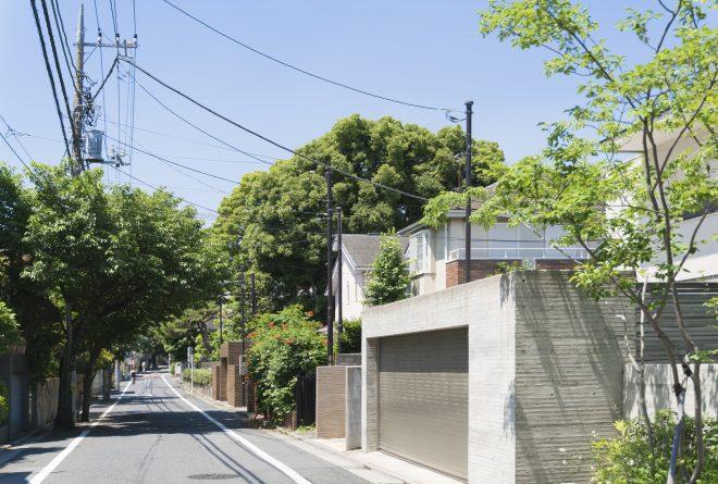 街 住宅 東京 高級